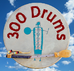 Making Native American Drums with School Children | 300 Drums Project