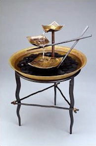 Chopstick fountain