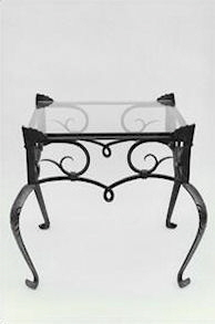 Forged end table