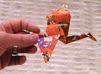 Origami Paper Crane: Symbol of Peace and Long Life