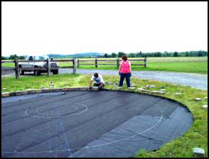 Medicine Wheel construction photo 4
