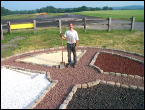 Medicine Wheel construction photo 11